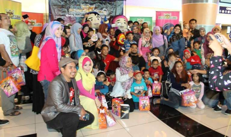 Movie Day Out Blogger Filem Animasi SuperSquad