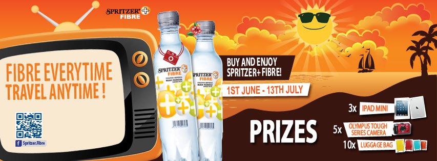 Spritzer Fibre Cover Photo Contest