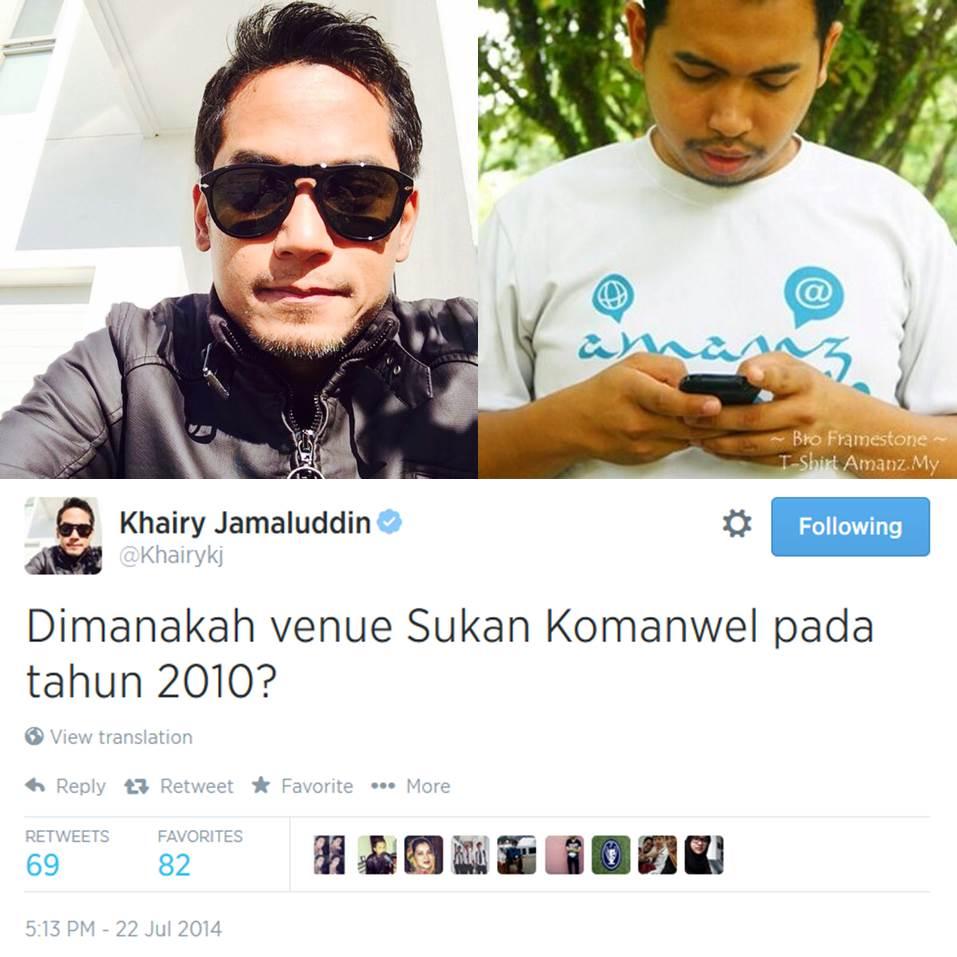 Twitter Bro Frameston Khairy Jamaluddin