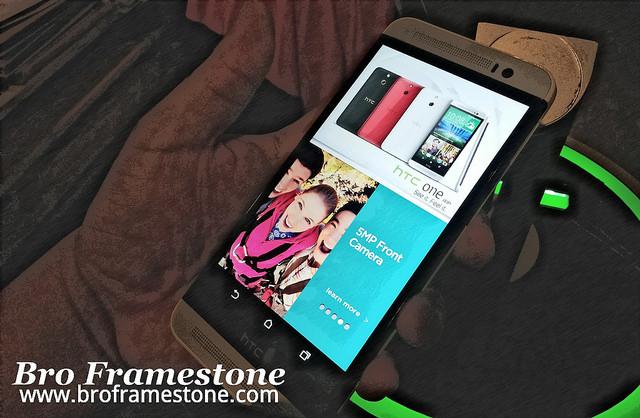 HTC One E8 Malaysia