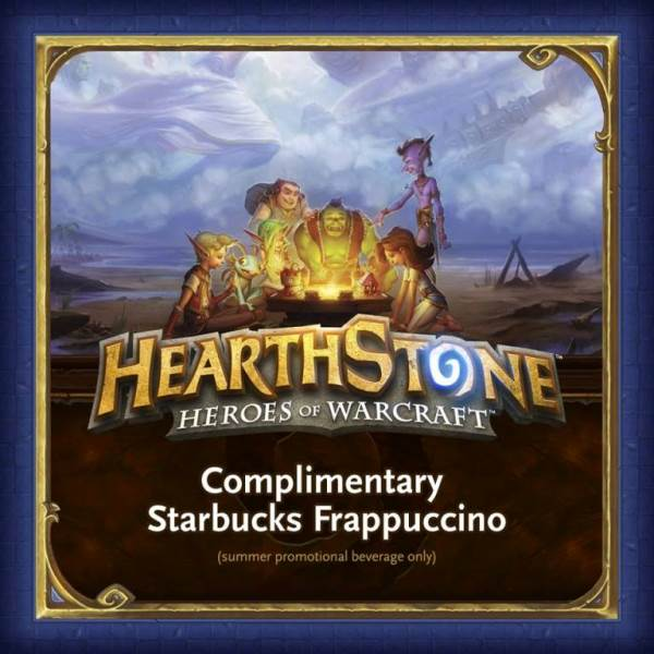 Limited Frappuccino Vouchers for HearthStone Players