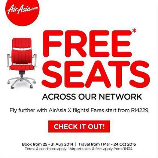 My AirAsia Free Seats