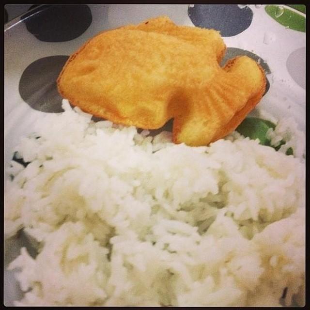 Nasi Berlauk Ikan Baulu