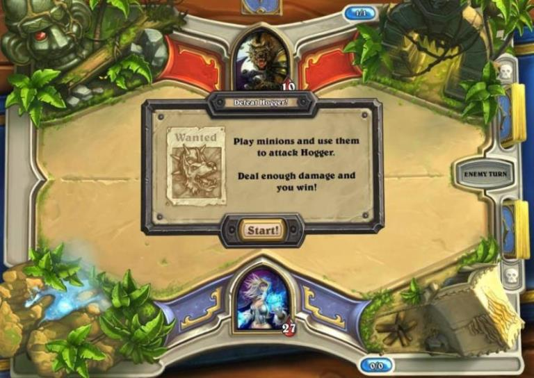 Starting HearthStone - Heroes of Warcraft