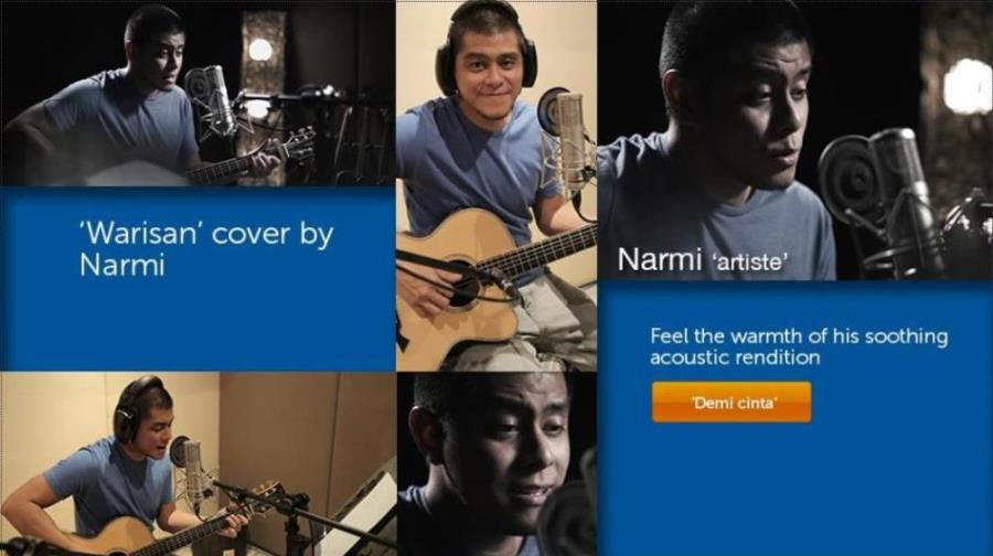 Warisan cover by Narmi