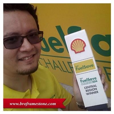 Blogger Menang Cabaran Shell FuelSave Challenge 2014