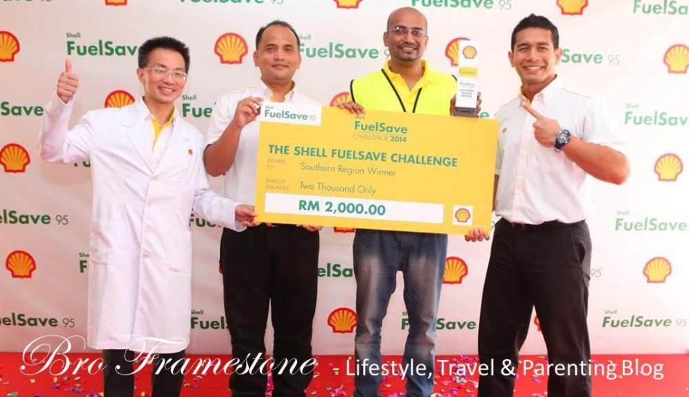 Gunasegaran Alageri Juara Wilayah Selatan Shell FuelSave Challenge 2014