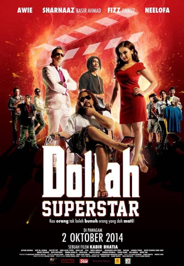 Poster Dollah Superstar