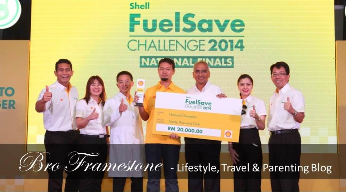 Juara Shell FuelSave Challenge 2014