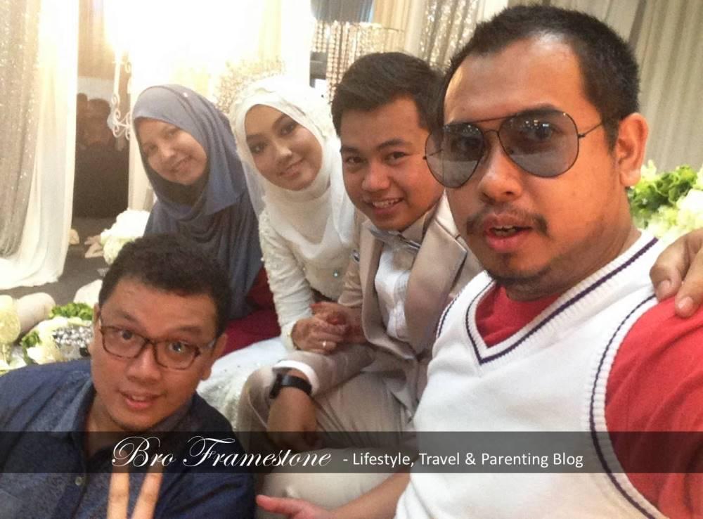 Majlis Perkahwinan Adik Angkat - Yana Nanako