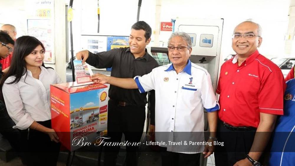 Shell Win Free Fuel Dato Sri Hasan Malek