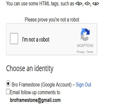 Im not a robot