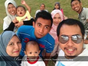Keluarga Blogger Bro Framestone Anak Mohammad Nor Ismail