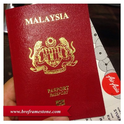 Passport Malaysia AirAsia  Travel Blogger