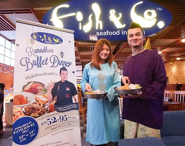 Fish & Co.  Dato' Fazley Yaakob