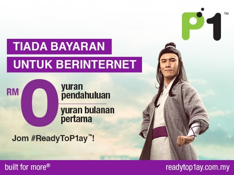 ReadyToP1ay Tiada Bayaran Untuk Berinternet