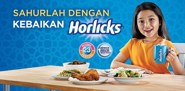 Sahur Dengan Horlicks