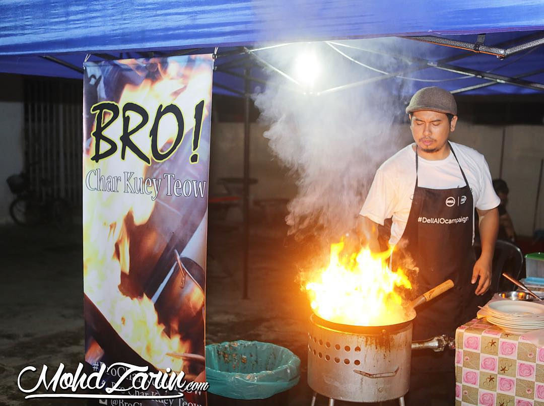 Bro Char Kuey Teow Tg Malim Kuali Berapi