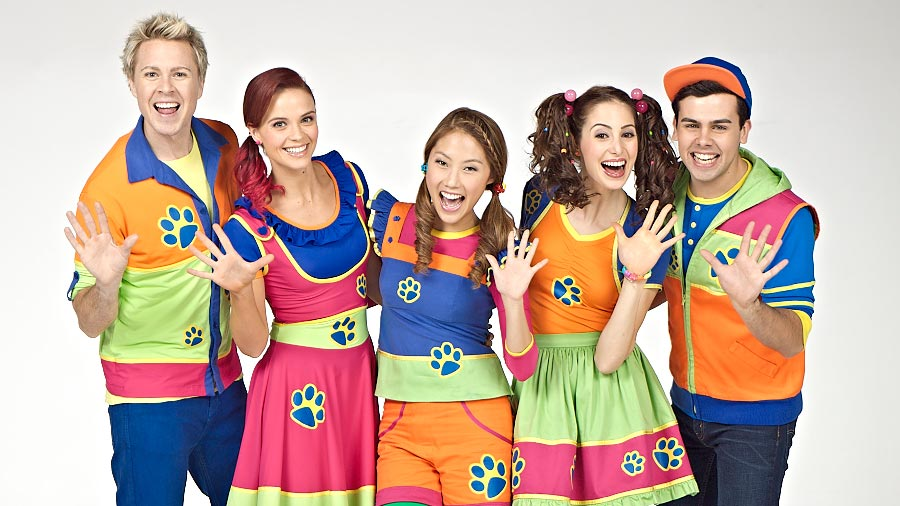 Cast Hi-5 House of Dreams Live in Concert Kuala Lumpur