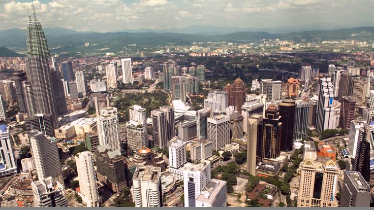 Downtown Kuala Lumpur Malaysia