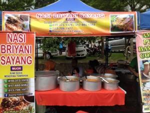 Nasi Briyani Sayang Bazaar Ramadan SS6 Kelana Jaya