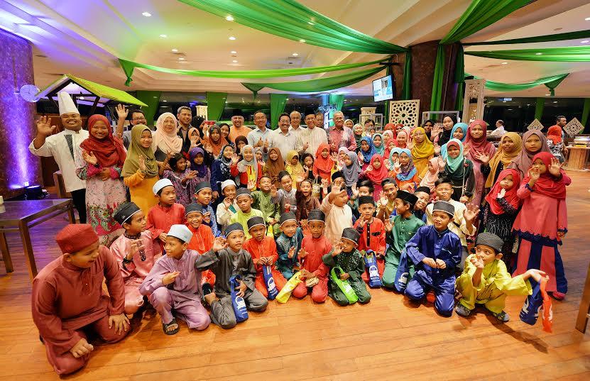 Pusat Konvensyen Antarabangsa Putrajaya (PICC) Raikan Anak-Anak Yatim