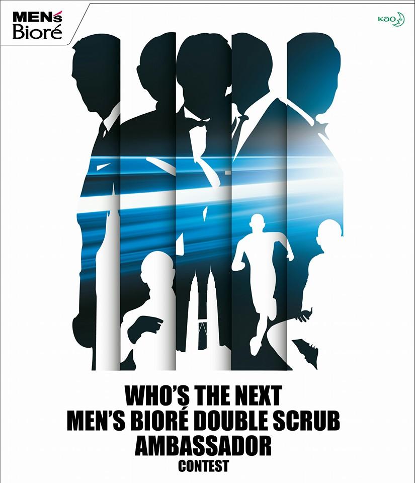 Siapakah Bakal Duta Mens Biore Double Scrub