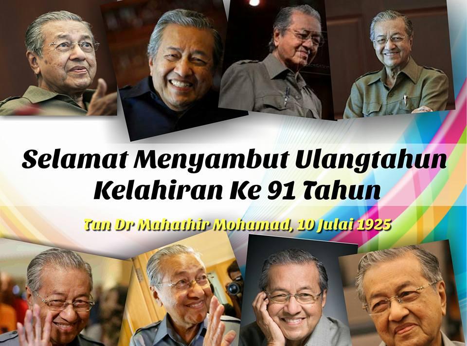 Ulang Tahun Kelahiran Tun Dr Mahathir Mohamad