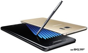 Pre-Order Galaxy Note7 Pada Harga RM3,199