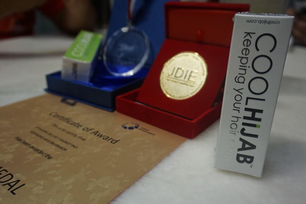 COOLHIJAB Menang Gold Medal 2016 Japan Design & Invention Expo (JDIE)