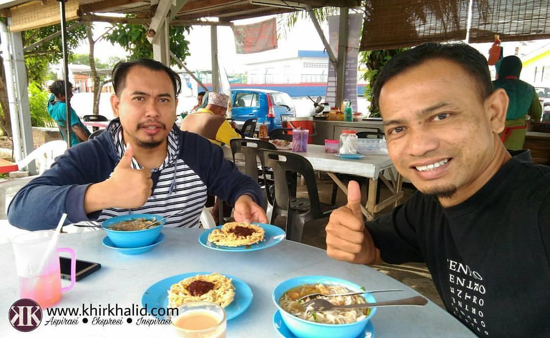Breakfast Bihun Sup & Mee Siput Bersama Khir Khalid