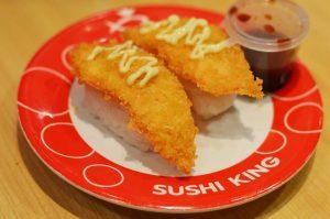 Sushi King - Fried Salmon Sushi