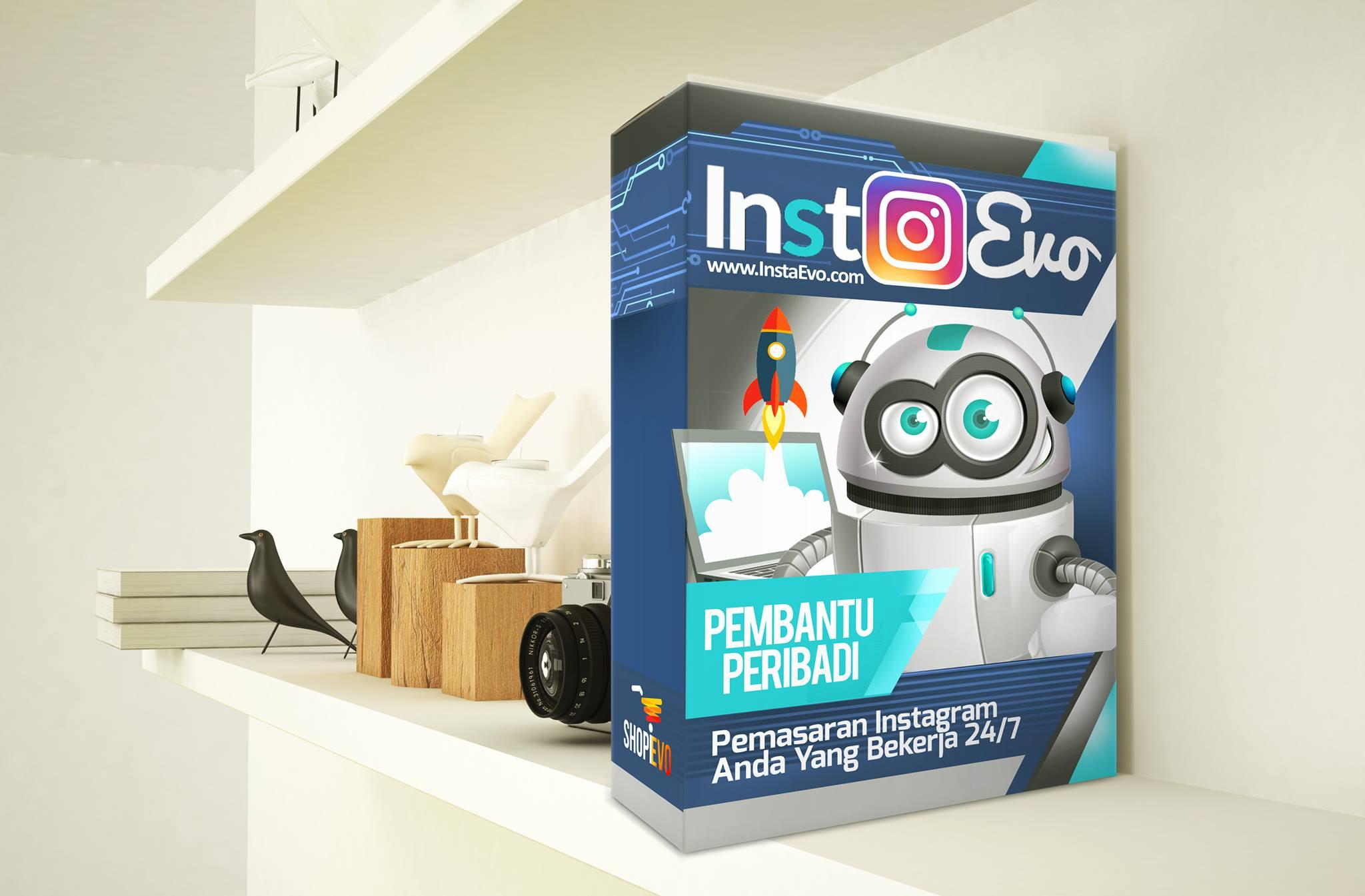 InstaEvo – Rahsia Mudah Urus Bisnes & Jana Pendapatan di Instagram
