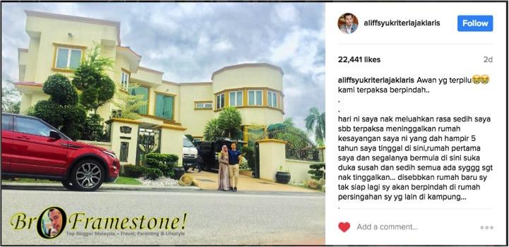Kediaman Mewah Dato' Aliff Syukri Kini Dijual Kepada Pemilik Nur Sajat