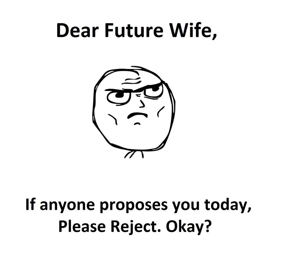 Dear Future Wife