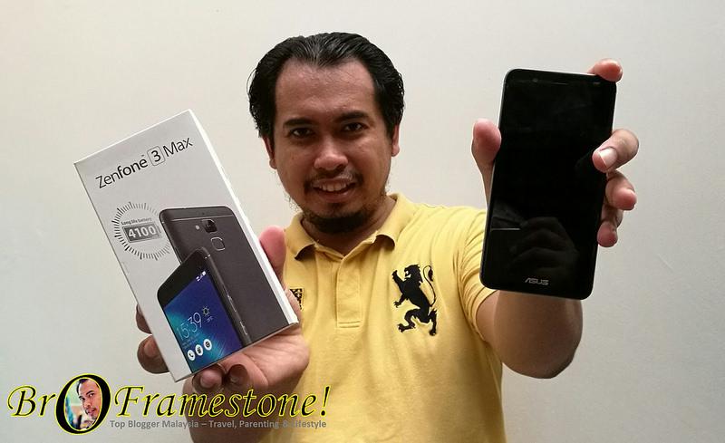 Menang ASUS Zenfone 3 Max