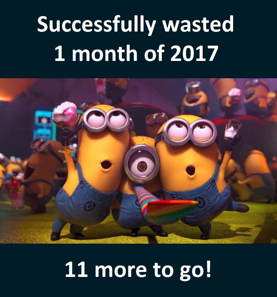Minions - Successfully Wasted 1 Month