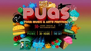 PUAS - Food Music & Arts Festival