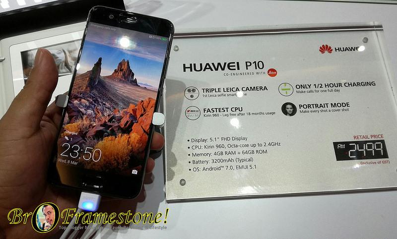 Huawei P10 Diperkenalkan di Malaysia, Pra-Tempahan Dibuka Mulai 23 Mac 2017