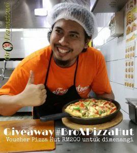 Giveaway Bro Framestone Pizza Hut