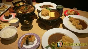Sushi King Japanese Curry Menu