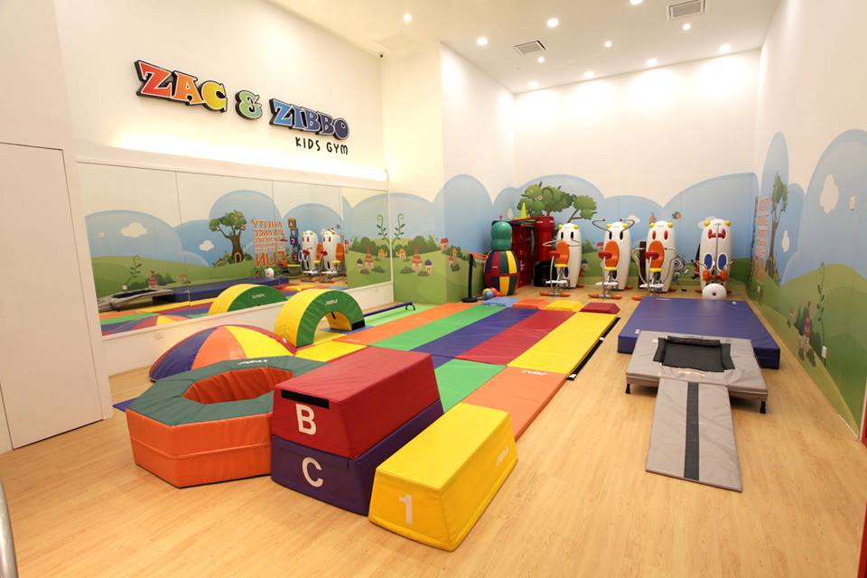 Zac & Zibbo Gym Diperkenalkan di The Parenthood, Sunway Pyramid