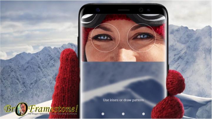 Pengimbas Mata Samsung Galaxy S8