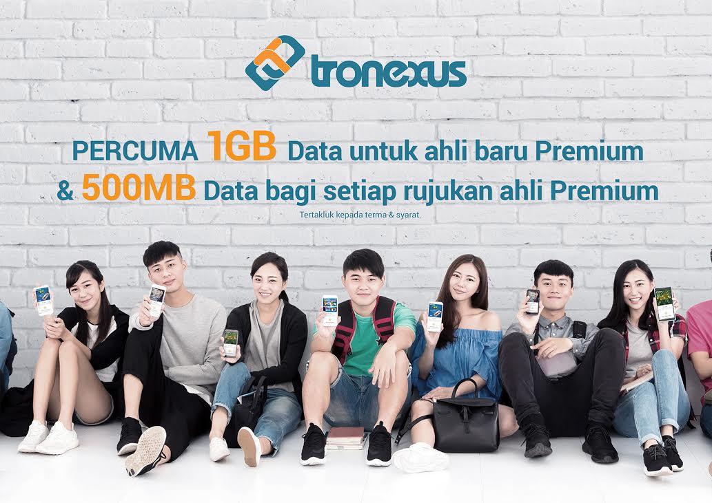 Jana Pendapatan Dengan Tronexus