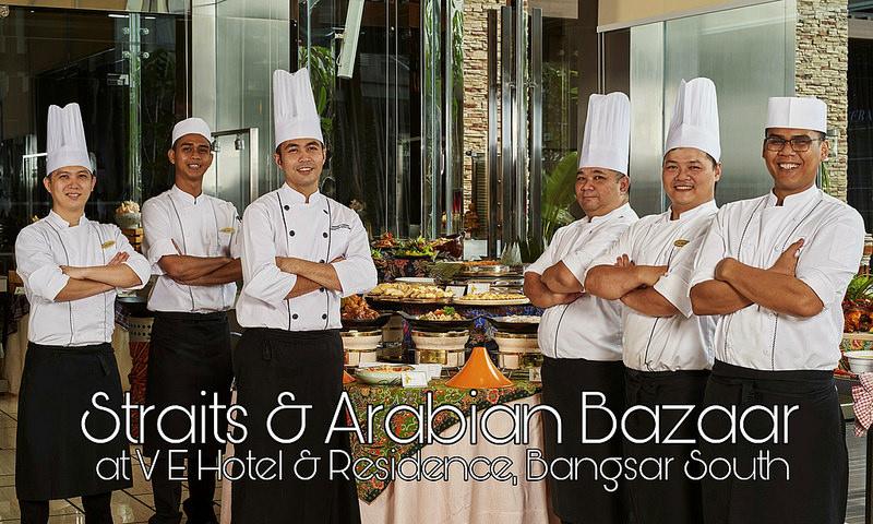 Aneka Sajian Dari Negeri Selat & Arab di V E Hotel & Residence, Bangsar South