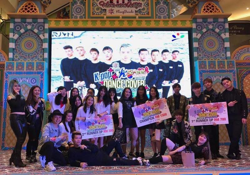 K-Pop Dance Competition Meriahkan K-Street Carnival 2017 di Klang Parade