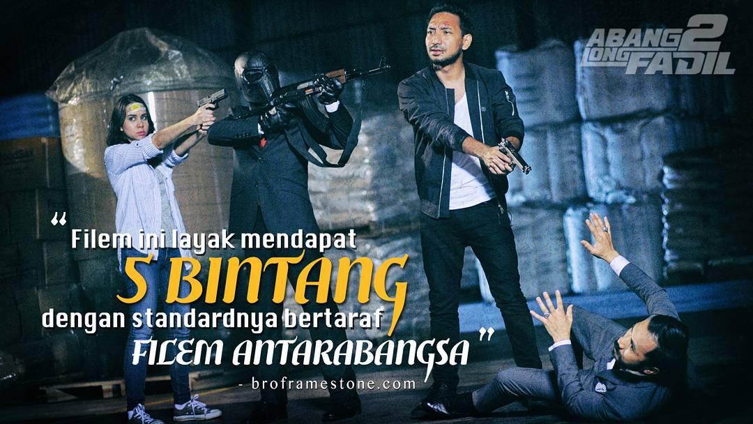 Abang Long Fadil 2 Filem Bertaraf Antarabangsa