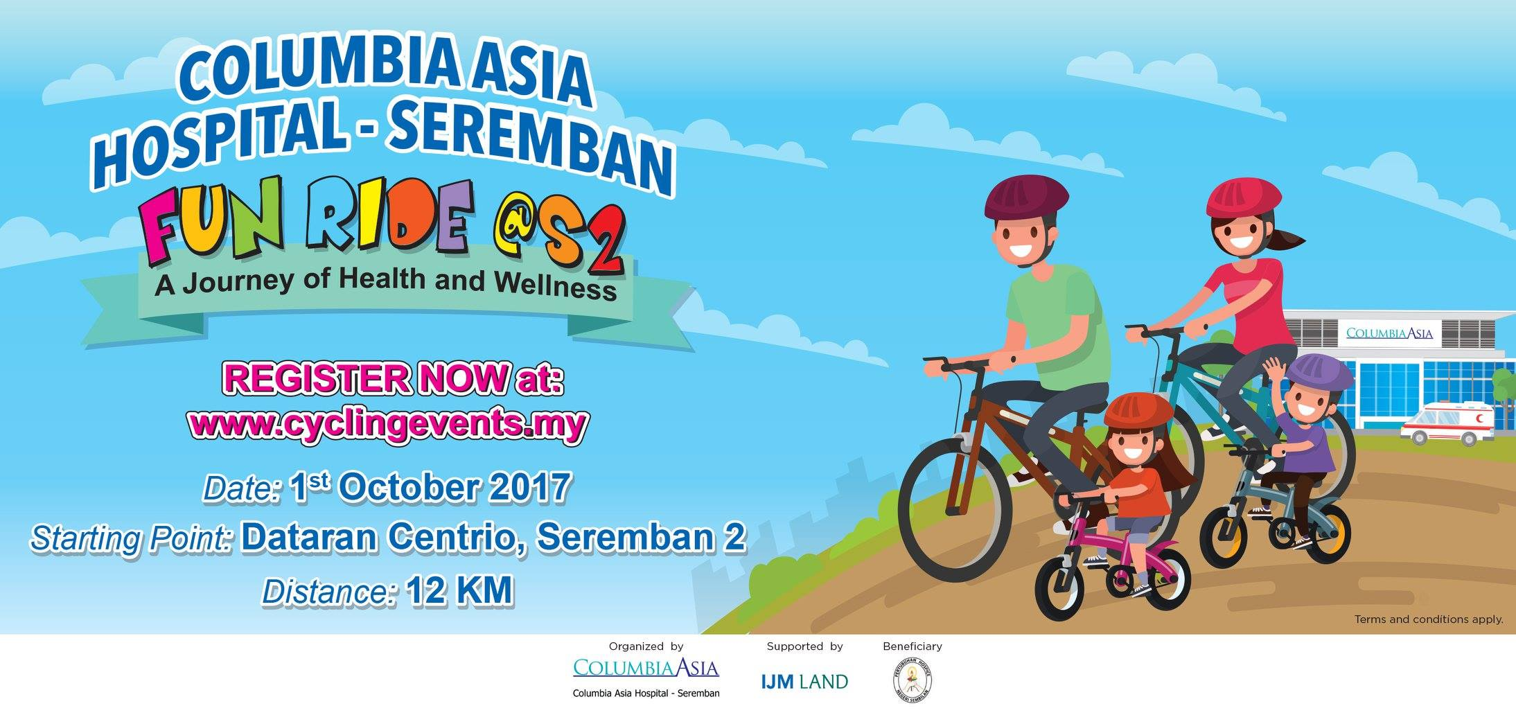 Columbia Asia Hospital Seremban Fun Ride