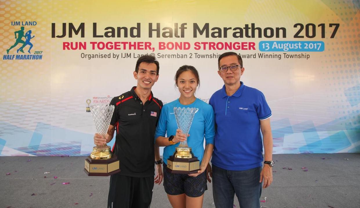IJM Land Half Marathon Challenge Trophy
