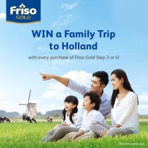 Menangi Percutian Keluarga Ke Holland Dengan Friso Gold